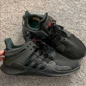 Adidas ortholite EQT black sneakers